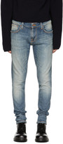 Nudie Jeans Blue Tight Terry Jeans