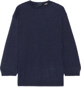 ADAM by Adam Lippes Cashmere and silk-blend sweater
