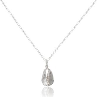 Auree Jewellery Moka Sterling Silver Shell Pendant