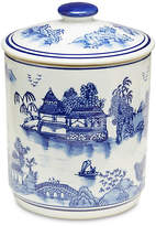 One Kings Lane Blue Willow Canister w/Lid