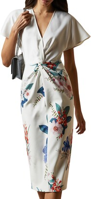 Ted Baker Nerris Jamboree Twist Detail Dress