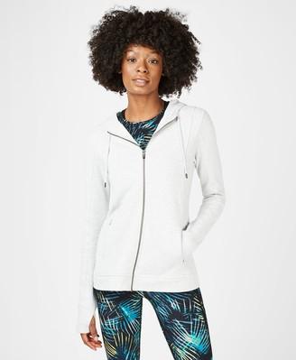 Sweaty Betty Warm Up Lightweight Zip Through Hoodie