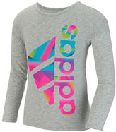 adidas Girls 2-6x Above the Curve Tee