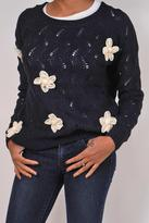 Alythea Chunky Flower Sweater