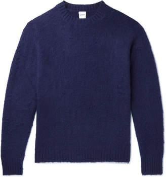 Aspesi Brushed Shetland Wool Sweater