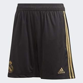 adidas Boys' Real Tr Sho Y Shorts, Black/Dark Football Gold, (13/14 años)