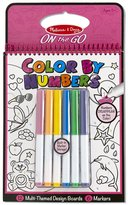 Melissa & Doug Color By Numbers Coloring Book -Pink