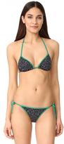 Diane von Furstenberg Reversible String Bikini Top