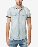 Buffalo David Bitton Men's Dual Pocket Denim Shirt