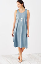 J. Jill Pure Jill Dipped-Hem A-Line Dress