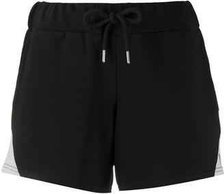 Diesel Drawstring Knitted Logo Shorts