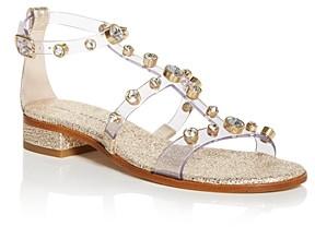 Sophia Webster Women's Dina Gem T-Strap Sandals
