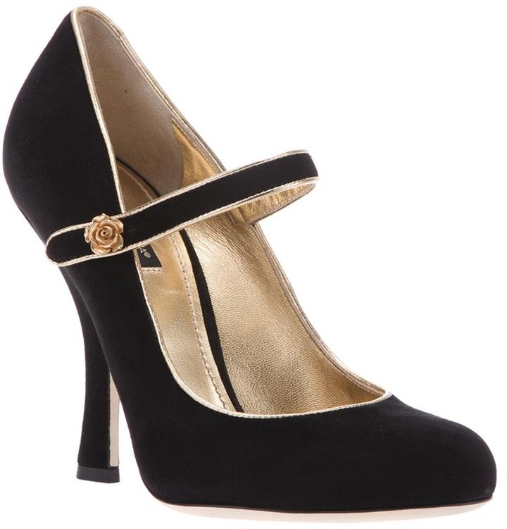 Dolce & Gabbana Rose detail pump