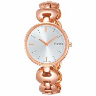 Pulsar Women's Analogue Analog Quartz Watch with Stainless Steel Strap PM2268X1