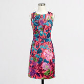 J.Crew Factory Factory pleated shift dress in floral