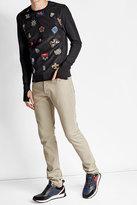 Alexander McQueen Cotton Sweatshirt with Patches
