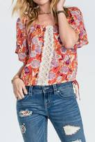 Miss Me Floral Force Top