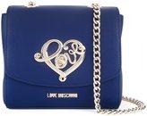Love Moschino 'love' plaque crossbody bag