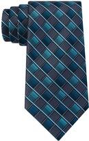 Van Heusen Men's Patterned Skinny Tie and Tie Bar Set