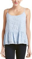 Velvet by Graham & Spencer Women's Eyelet Camisole