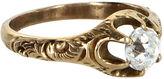 One Kings Lane Vintage Victorian Mine Cut Paste Ring