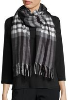 Lord & Taylor Plaid Blanket Wrap and Scarf