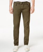 Mens Slim Fit Twill Pants - ShopStyle