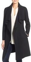 Mackage Women's Belted Stretch Wool Envelope Collar Long Coat