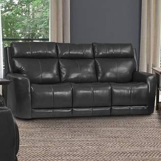 Amaya Winston Porter Reclining Sofa Winston Porter Upholstery Color: Dark Gray