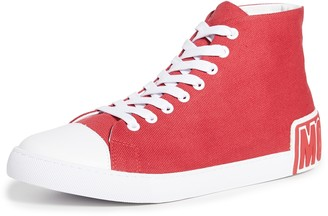 Moschino High Top Logo Sneakers
