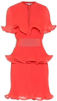 Stella McCartney Laidley plisse crepe dress