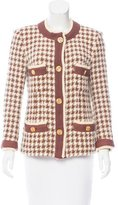 Chanel Houndstooth Jacket