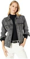 Levi's Womens Womens Ex-Boyfriend Trucker Jacket (Neu Blue) Women's Coat
