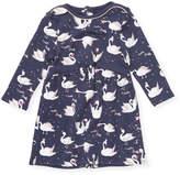 Little Marc Jacobs Swans Cotton Dress