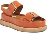 Stella McCartney Buckle Platform Sandal (Women)