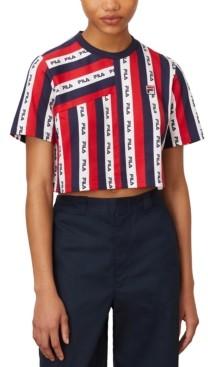 Fila Mudra Logo-Print T-Shirt