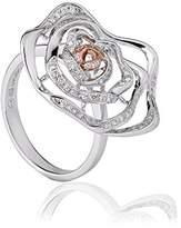 Clogau Gold Clogau Royal Roses Diamond Ring - Size O
