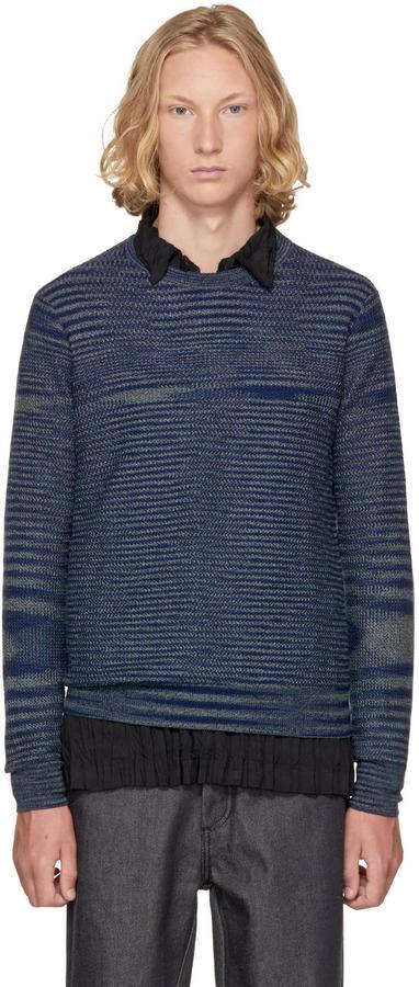Missoni Blue Striped Sweater