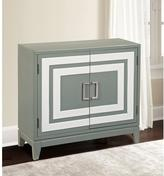 Pulaski Furniture Gray White Storage Cabinet