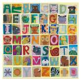 Oopsy Daisy Fine Art For Kids Animal Alphabet Canvas Wall Art