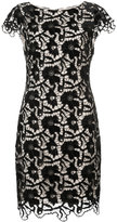 Alice + Olivia Alice+Olivia floral crochet lace layered dress