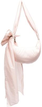 Red(V) Maxi Bow Hobo Bag