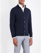 SLOWEAR Button-up wool-blend cardigan