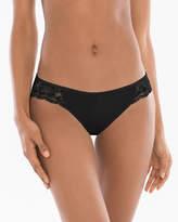 Soma Intimates Cotton/Modal with Lace Bikini
