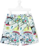 Stella McCartney Teen Taylor printed swim shorts