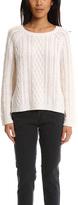 Nili Lotan Feather Weight Aran Sweater