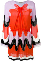 Emilio Pucci retro print dress - women - Silk - 40