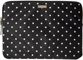 Kate Spade Classic Nylon Mini Pavillion Dot Laptop Zip Sleeve with Back Pocket 13 Computer Bags
