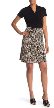 Philosophy di Lorenzo Serafini Knit A-Line Knee-Length Skirt