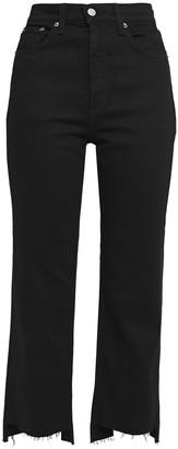 Rag & Bone The Stovepipe Cropped High-rise Slim-leg Jeans